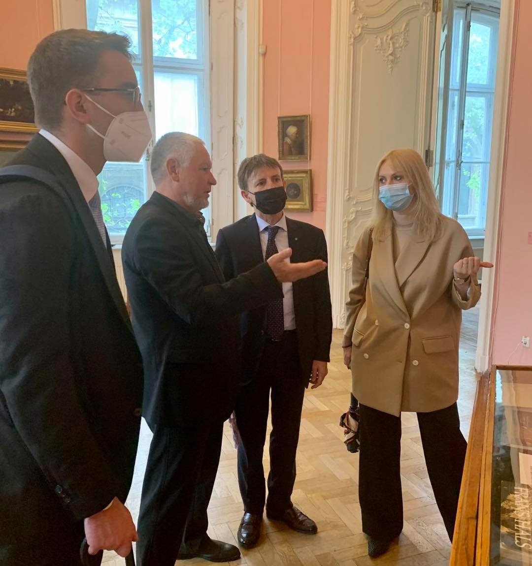 Посол Італії завітав до #WEartMuseum
