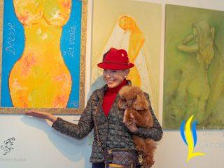 Вера Подкорытова на выставке «ART IS EVERYWHERE»