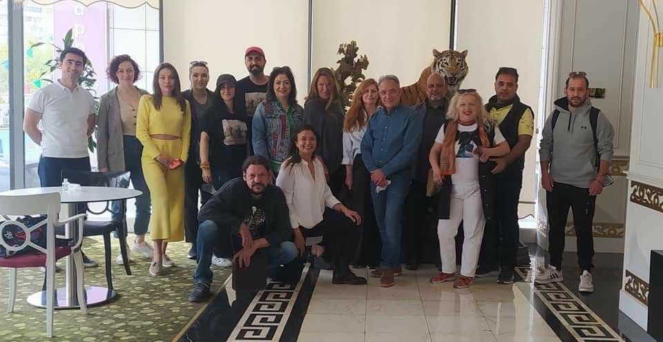 Художница из Одессы Ольга Адам привезла новости из Карабаха