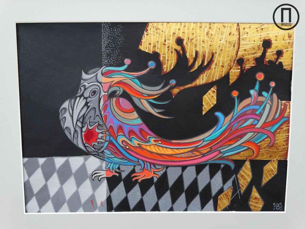 «Магический постсюрреализм» одесской художницы в творческом пространстве «Диалоги»