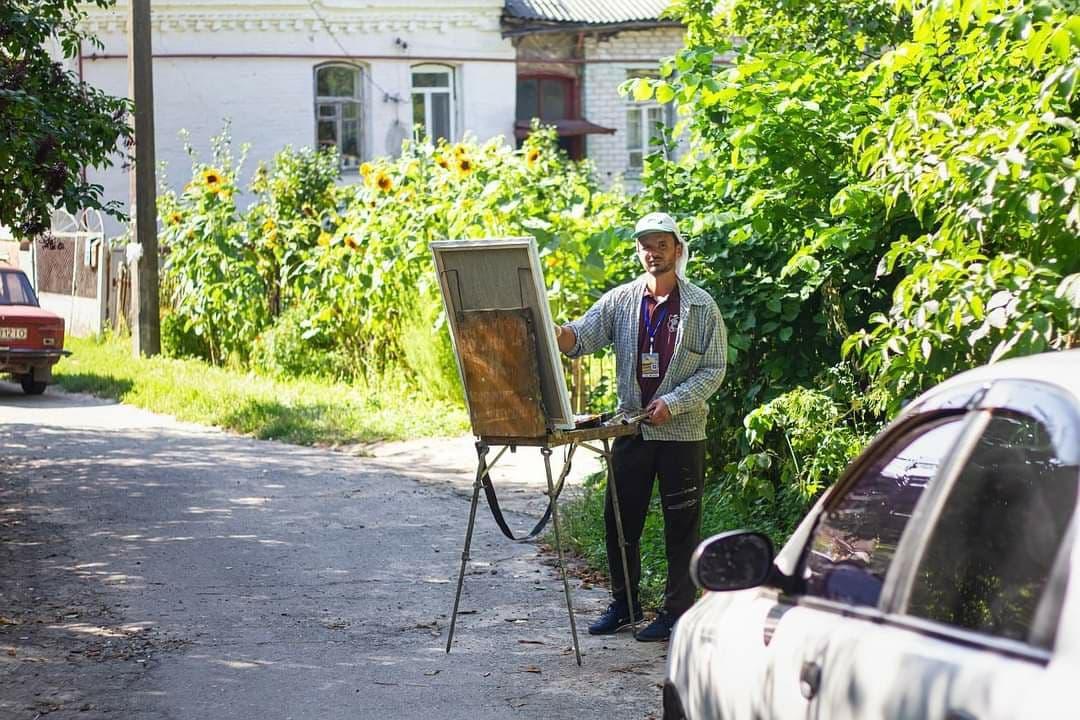 Відкриття V ювілейного Міжнародного мистецького пленеру «Кращий художник / The best artist – 2021»