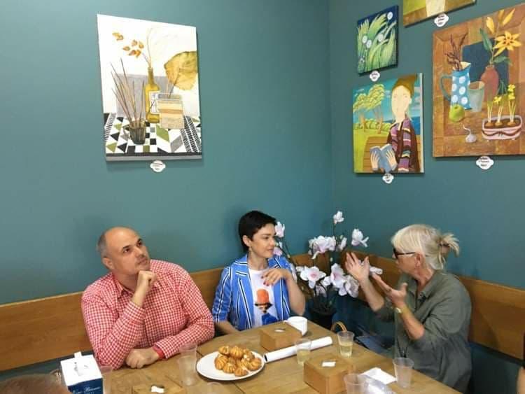 """Арт-кафе """"Творожная бабка"""" запустило совместный творческий проект"""